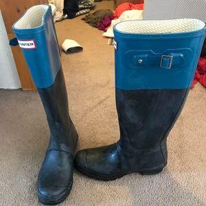 Women's hunter boots never worn size 9